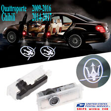 For MASERATI Quattroporte Ghibli LED Door Light Welcome Courtesy Laser Projector