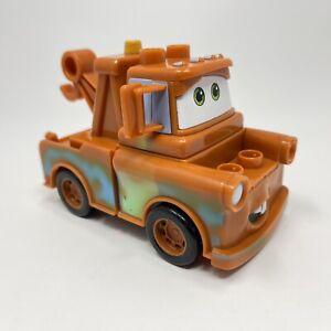 Mega Bloks Disney Pixar Cars Tow Mater Truck Missing Circle Piece