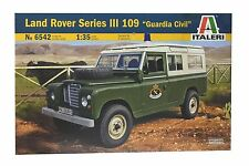 "Italeri 6542. Maqueta Coche Land Rover III 109 ""Guardia Civil"". Escala 1/35"
