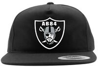 Black Antonio Brown Oakland Raiders FACE LOGO Snapback Hat