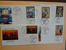 POLYNESIE Enveloppe 1er Jour Poste Aerienne N° 84/88