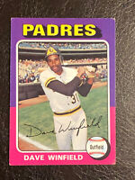 1975 Topps Dave Winfield Card #61 VG-EX HOF San Diego Padres