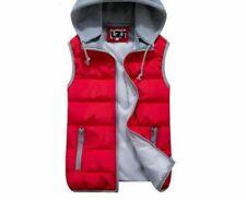 Ultralights Winter Warm Wear Vest For Ladies Windproof Hooded Slim Solid Pattern