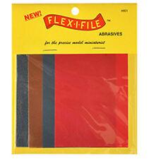 Flex-i-file hojas de abrasivos paquete estándar 801
