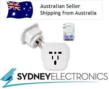 Sansai Universal Travel Power Plug Adapter Outlet UK EU US CA To Australia/ NZ