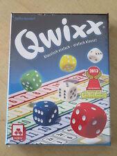 NEU! QWIXX Das spannende Würfelspiel Spiel ab 8 Jahre Kreuze machen von NSV