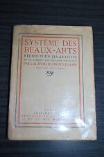 Système des Beaux Arts - Edition originale