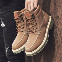 Men's New Retro Casual Working Boots Shoes Athletic Soft Sports Sneaker Non-slip