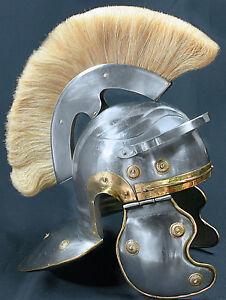 Centurio Römer Helm Legionär Mittelalter Ritter Gladiator Lorica Maximus R05Bi