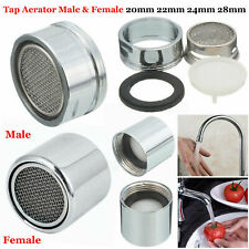 20//22//24mm Kitchen Bathroom Faucet Male Tap Aerator-spout End Diffuse