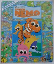 Disney Pixar Finding Trouver Nemo Search and Find Book Hardcover French Language