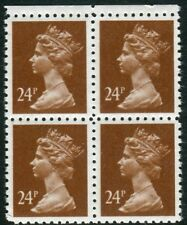 24p Brown Forgery Block of 4 UNMOUNTED MINT V82509