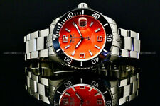 Tresod OCEAN MASTER Sapphire Crystal Orange Dial NH35 Automatic 24 Jewels Watch
