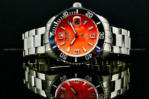 Tresod OCEAN MASTER Sapphire Crystal Orange Dial NH35 Automatic 24 Jewels Watch