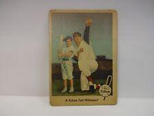 1959 Feer Ted Williams A Future Ted Williams?  Card # 69