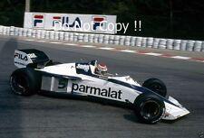 Nelson Piquet Brabham BT52 Belgian Grand Prix 1983 Photograph 1