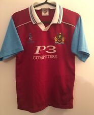 GENUINE BURNLEY FOOTBALL SOCCER HOME SHIRT SIZE YOUTH LARGE 1999/2000 RETRO