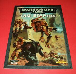 Games Workshop ~ WARHAMMER 40,000 ~  CODEX ~ TAU EMPIRE ~ Free Shipping