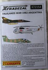 Xtradecal 1/72 X72154 Falklands War 1982, Argentine Aircraft decal set