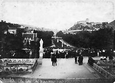 A447 Photographie Originale 1900 Lourdes vue générale Fort Pyrennee