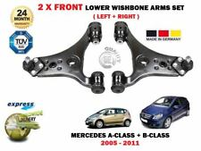 FOR MERCEDES A150 A160 A170 A200 B150 B170 B180 2X FRONT LOWER WISHBONE ARMS SET