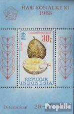 Indonesia Blok 14 (volledige uitgave) postfris MNH 1968 Vruchten