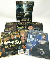 Lot Of 7 Star Trek Communicator Magazines Back Issues 1996-1998 Fan Club