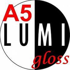 A5 115 gsm LUMI GLOSS 2 SIDED PRINTER PAPER x 1000 sheets - LASER - DIGITAL