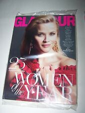 Dec 2015 ISSUE- GLAMOUR MAGAZINE BRAND NEW SEALED IN BAG 25TH WOMEN OF THE YEAR
