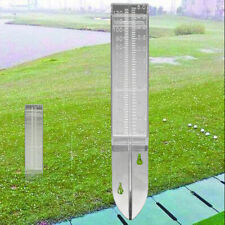 New Listing120ml Dual Scale Rain Gauge Home Garden Soil Water Measuring Meter Tool Us
