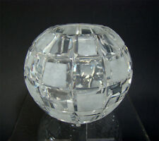 Art Deco Kugelvase Kristall Glas ° Haida Globe Vase Böhmen/Bohemia ca 1930