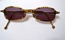 L.A. Eyeworks Brille #349 Brown/Transparent  Sunglasses & Case