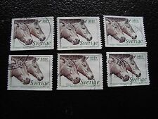 SUEDE - timbre yvert et tellier n° 1973 x6 obl (A29) stamp sweden (Z)