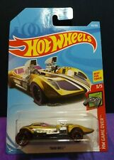 2019 Hot Wheels TWIN MILL TREASURE HUNT in GOLD HW GAME OVER 3/5. US Long Card.