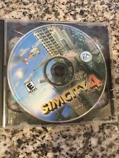 Tested Video Game - SimCity 4 (PC, 2003) - Discs Only Free Ship