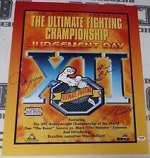 Mark Coleman Dan Severn Jerry Bohlander Signed UFC 12 16x20 Photo Poster PSA/DNA