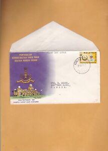 MALAYSIA PERAK 1963 SULTAN IDRIS SHAH FDC cover
