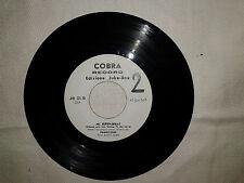 """Achille Ovale / Tombstones – Disco Vinile  45 Giri 7"""" Edizione Promo Juke Box"""
