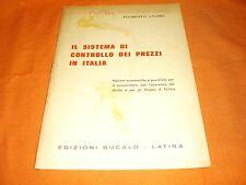 lauro il sistema di controllo dei prezzi in italia bucalo 1975