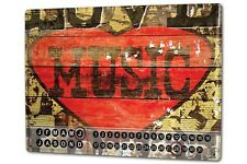 Allen Love Musik Metall Magnet Dauer Wand Kalender Fun M.A