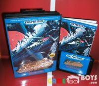 Sol-Deace Game Cartridge SEGA Genesis Complete Boxed Manual USA Version NTSC-U/C