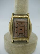 Antique 1930's NOS Geneva Gold Men's Watch Case w/ Dial New Old Stock