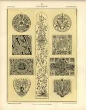 1880 Chinese : Panels Screens