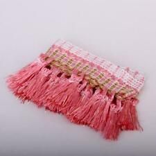 Pink Tassel Fringe Trim Upholstery Fringing Clothes Bedding Sewing Accessory