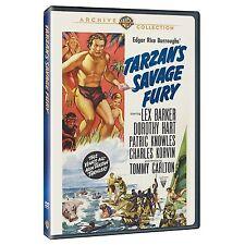TARZANS SAVAGE FURY - (B&W) (1952 Lex Barker) Region Free DVD - Sealed