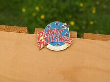 Planet Hollywood Seattle Gold Tone Metal & Enamel Lapel Pin Pinback