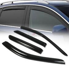 FOR 11-14 DODGE DURANGO SMOKE TINT WINDOW VISOR SHADE/VENT WIND/RAIN DEFLECTOR