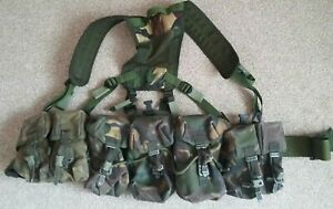 British army issue dpm PLCE webbing fighting order