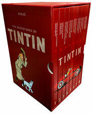 The Complete Adventures of Tintin Collection 8 Books Box Gift Set by Herge New