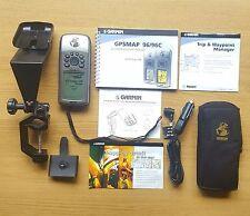 Garmin GPSMAP 96 Atlantic aviation Marine GPS with Yoke mount , Manual & Leads